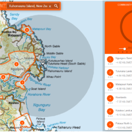 Local predator control areas mapped